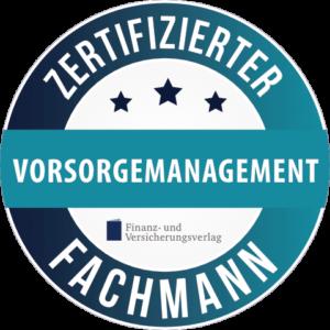 Siegel-Fachmann für Vorsorgemanagement